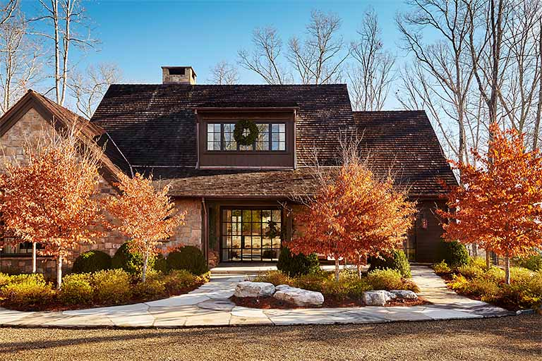 Exterior Design - Blackberry Farm Smoky Mountain Home - R.Higgins Interiors
