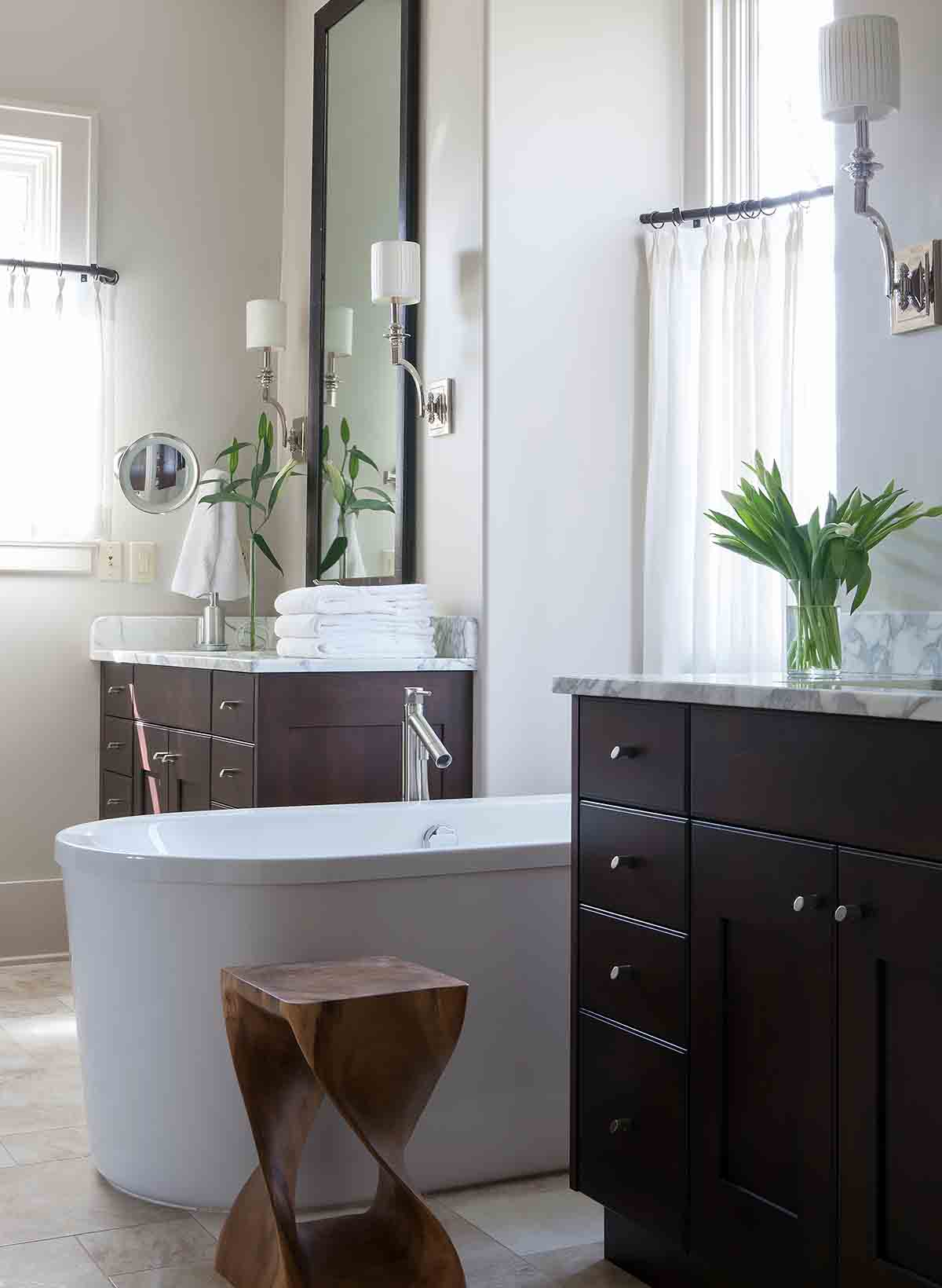 Master Bath - Governor's Club - R Higgins Interiors