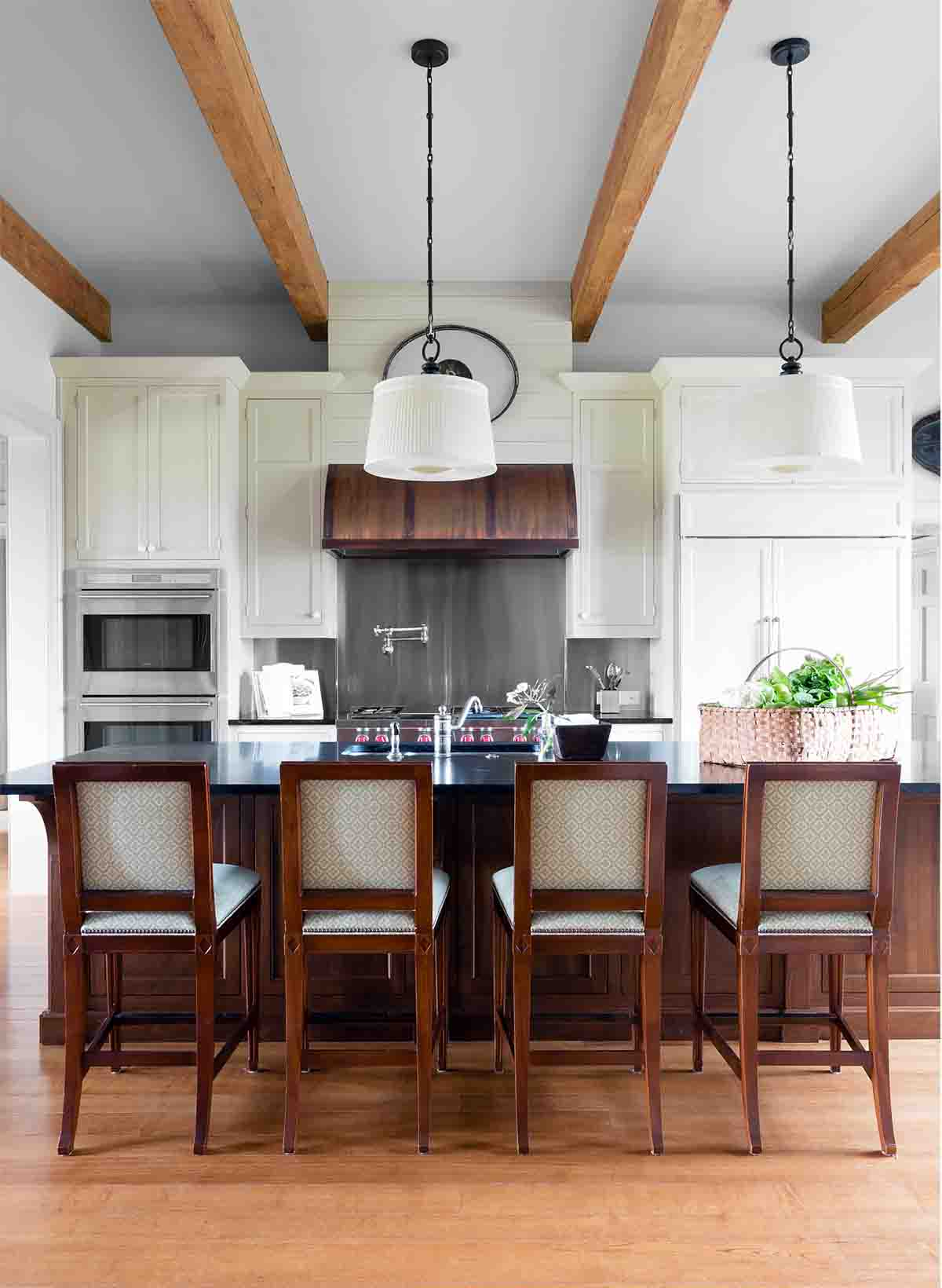 Kitchen Design - Historic Nashville Home - R.Higgins Interiors