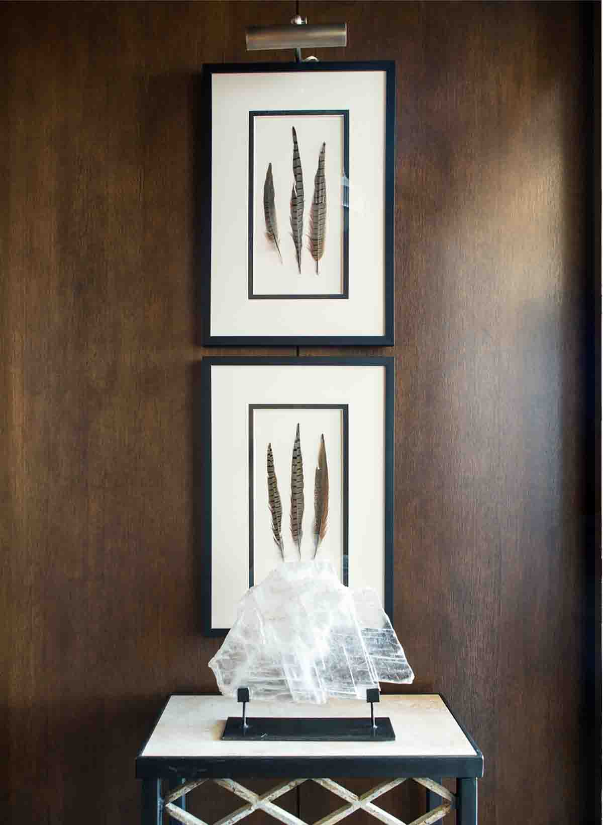 Paneled Entry Design - Nashville Penthouse - R.Higgins Interiors