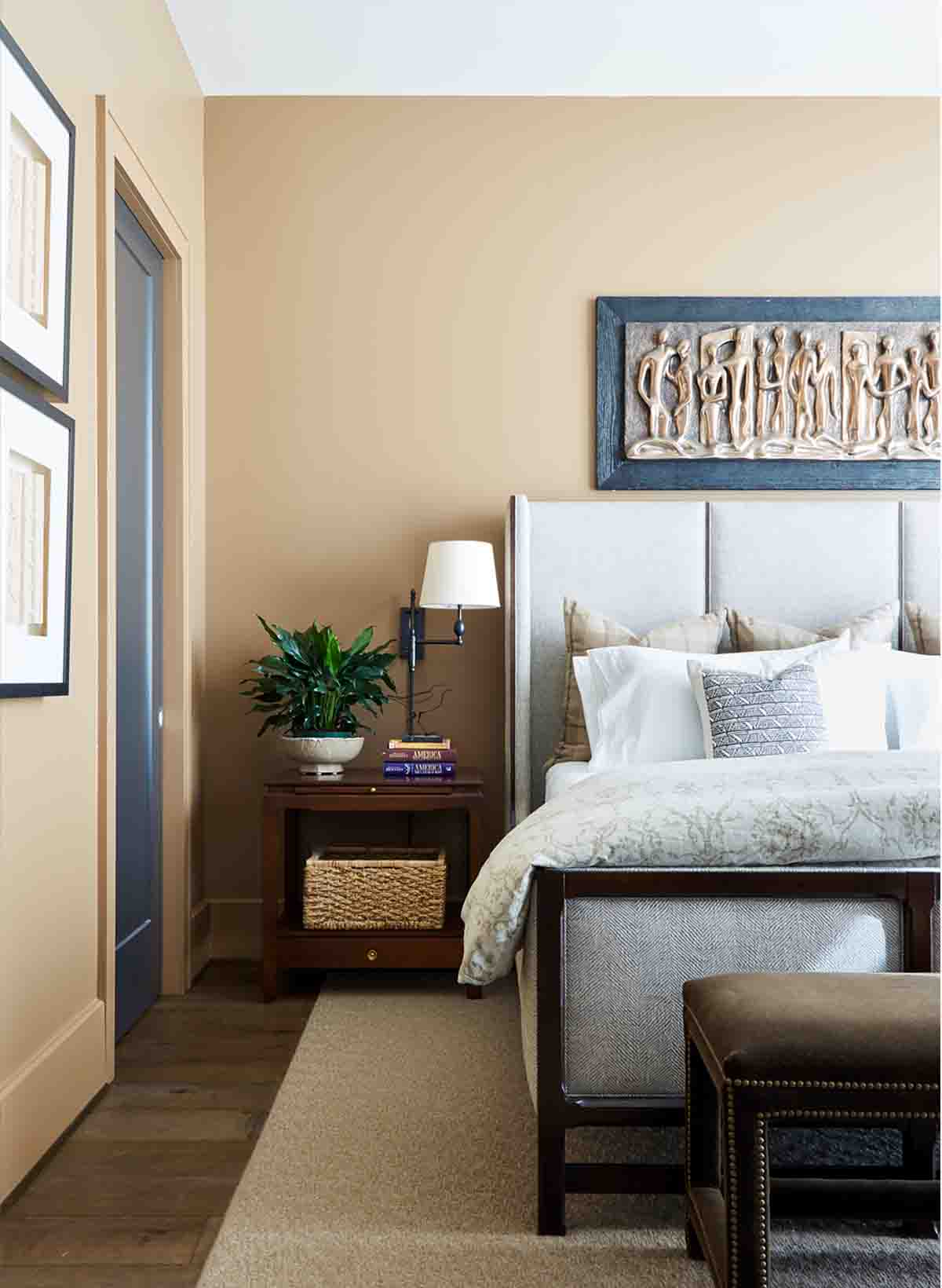 Bedroom Design - Nashville Penthouse - R.Higgins Interiors