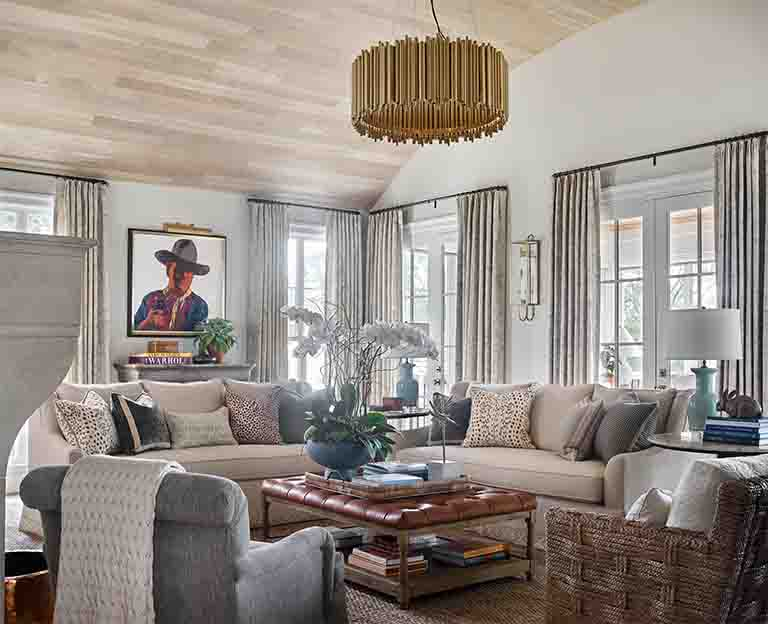 Family Room - Westview -RHiggins Interiors