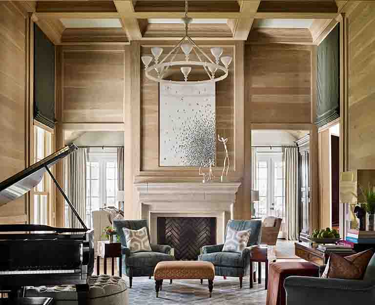 Music Room - Westview -RHiggins Interiors