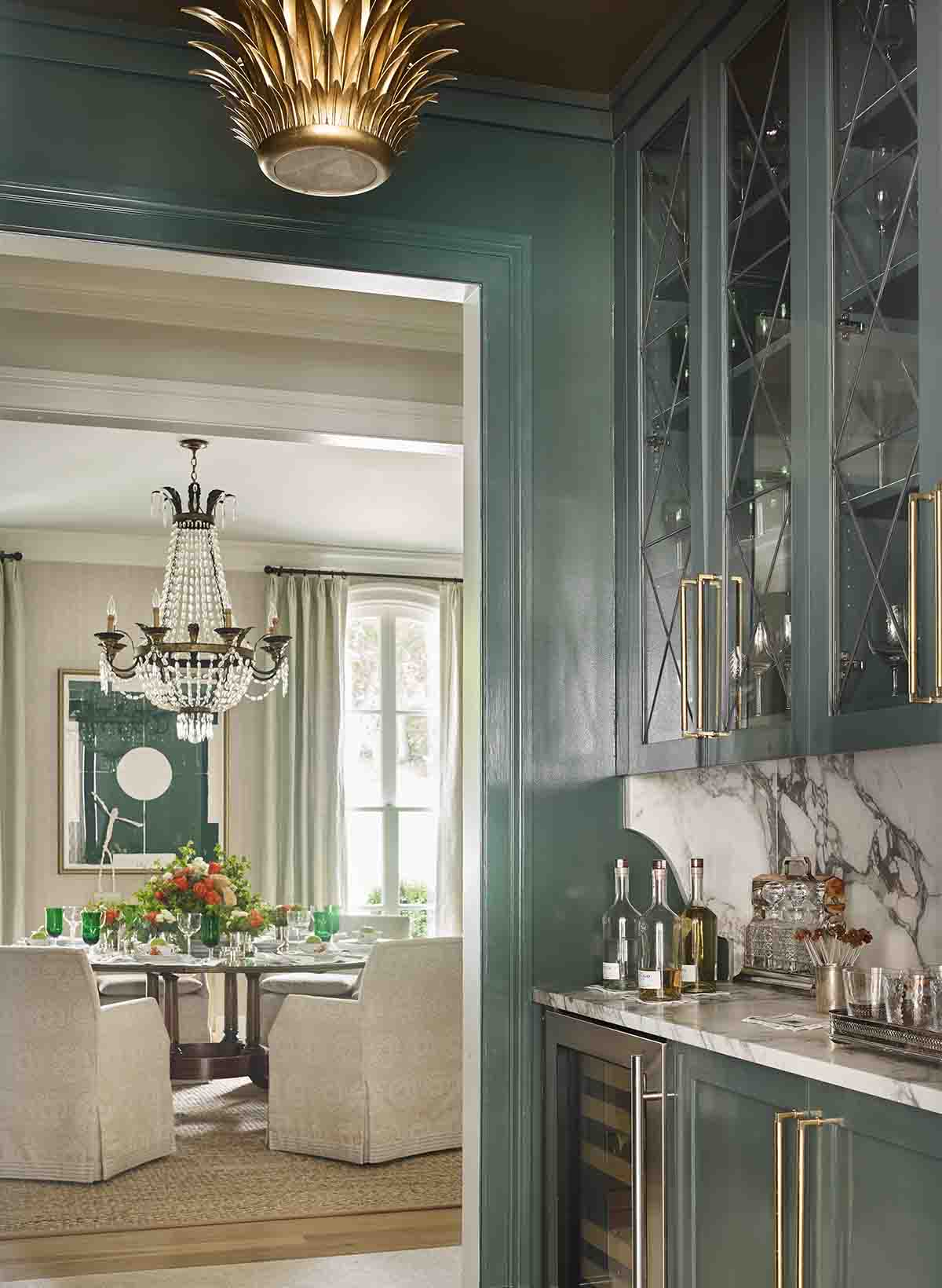 Wet Bar Detail - Westview -RHiggins Interiors
