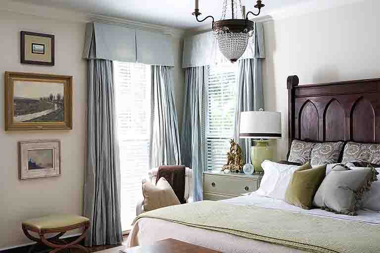 Master Bedroom - Woodlawn Drive Home - R.Higgins Interiors